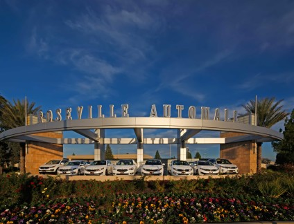 Roseville Automall Display Platforms - Roseville, CA